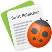 Swift Publisher icon—a word processor for PDF