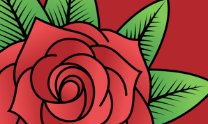 Preview image for How to Draw a Rose in Amadine how-to article