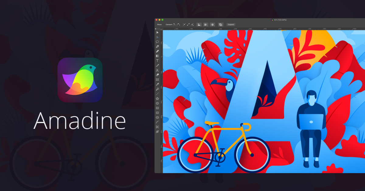 Vector Graphic Design Software for Mac – Amadine