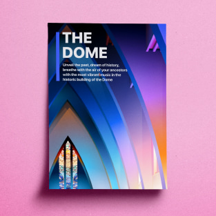 Poster 'The Dome' created in Amadine